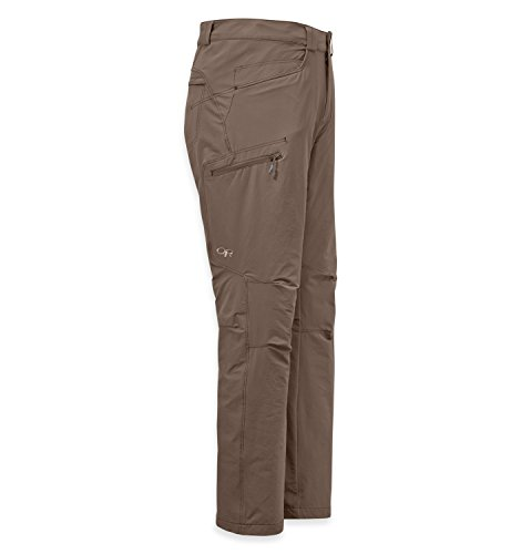 Outdoor Research Men's Standard Voodoo Pants, Walnut, 34W x 32L