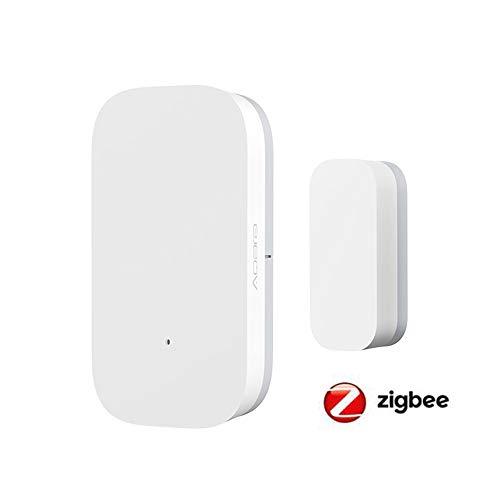 Tuya Zigbee Smart Home PIR Sensor Türsensor, Temperatur- und Luftfeuchtigkeitssensor, Home Automation Scene Security Alarm Kit, ZB-door seonr, 1