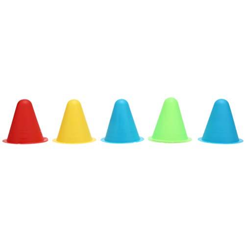 TIANTIAN Inline-Skateboard Markierungs-Cup, für Fußball Rugby Skates, Kegel Roller, Geschwindigkeitstraining, für Slalom-Skates, Rollen, zufällige Farbe