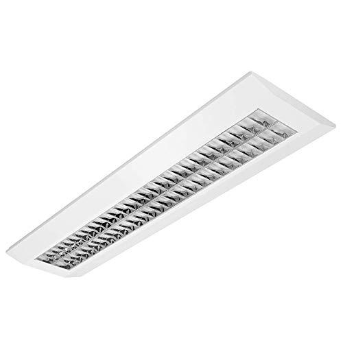 LED Rasteranbauleuchte 55W COB 6100lm 4000K Büroleuchte Bürolampe Aufbauleuchte mit BAP Raster Arbeitsplatzleuchte Deckenleuchte Schreibtischleuchte (55)