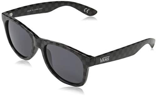 Vans Herren SPICOLI 4 SHADES Sonnenbrille, Schwarz (Black-Charcoal Checkerboard), 50.0