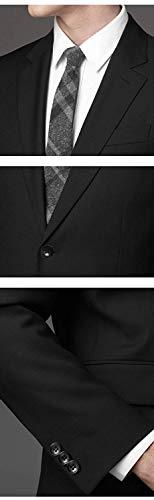 WEENCHARMスーツメンズ上下セットセットアップビジネススーツスリム着心地良い礼服結婚式就職スーツオールシーズンシンプルデザイン上下セット無地パーティースーツ