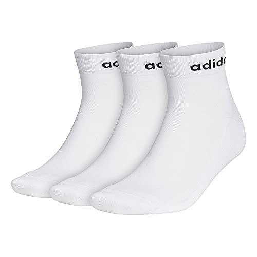 adidas HC Ankle 3PP Calcetines, Unisex Adulto, Blanco/Negro, XL
