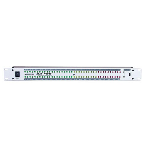 Omnitronic 10453010 DB-100 Dezibel Level Meter
