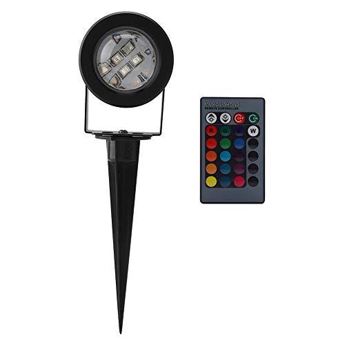 koulate 2 Paket Fernbedienung led tauchlampe, Unterwasser Multi-Color Dekoration Spot licht für Aquarium Schwimmbad Garten teich