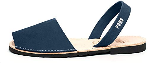 Pons 510 - Avarca Classic Style Women - French Blue - 35 (US 5)