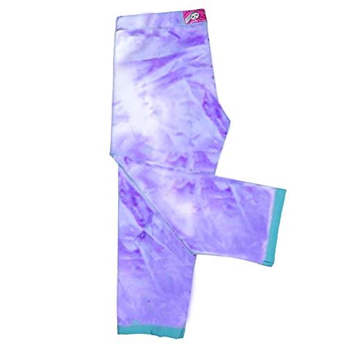 Girls Purple Leggings Soft Lavender Capri Fun Dance Style Under Dresses USA Made