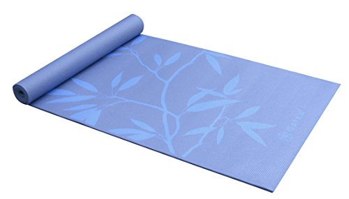 Gaiam Yoga Mat - Premium 6mm Print Extra Thick Non Slip Exercise & Fitness Mat for All Types of...