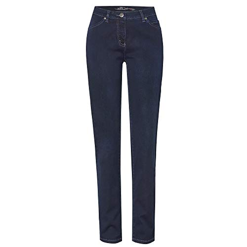 TONI Damen 5-Pocket-Jeans »Perfect Shape« mit Shaping-Effekt an Bauch und Po 44 darkblue