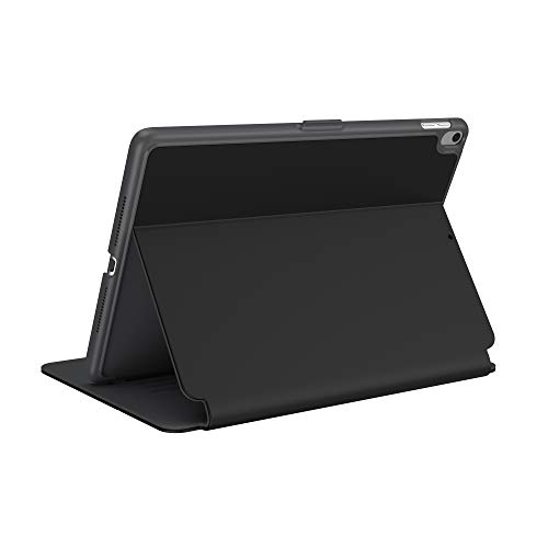 Speck Products StyleFolio iPad Air Case (2019) and Stand, Also Fits iPad PRO 10.5 Inch, Black/Slate Grey/Slate Grey