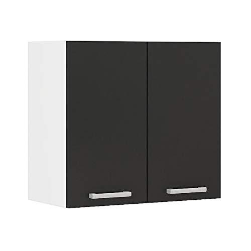 ALCEO Meuble haut de cuisine 60 cm - Noir