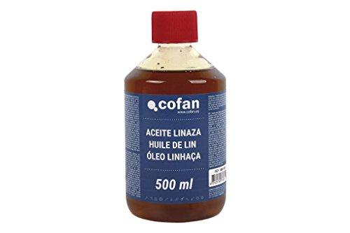 Cofan 15801031 Aceite linaza, 500 ml