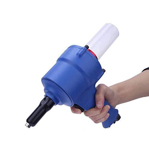 Remachadora neumática, pistola remachadora, KP-705X Pistolas remachadoras neumáticas Pistola remachadora de agarre Herramienta de remachado neumática 2,4-4,8 mm