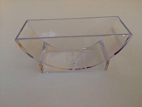 10 Ständer für Bierdeckel in Gastroqualität, transparent für runde und eckige Bierdeckel (Setbestellung 10 Stück)
