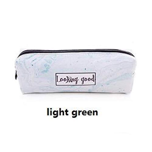 Pencil Case Printing Marble Fashion Pencil Bag Candy Color Pen Bag Stationery Organizer Pouch Gift Bag Pen Holder 1 Pcs 850 (Color : C)