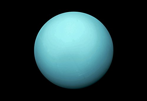 WeSellPhotos Planet Uranus | Planets and Moons Astronomy Galaxy Poster,...