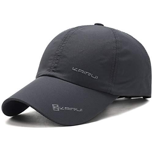 Oulm Stylish Baseball Adjustable Grey Cap for Men & Boys – (CP-5)