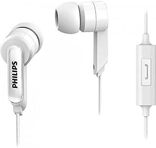 Fone de Ouvido com Microfone, Philips, She1405Wt/94, Branco