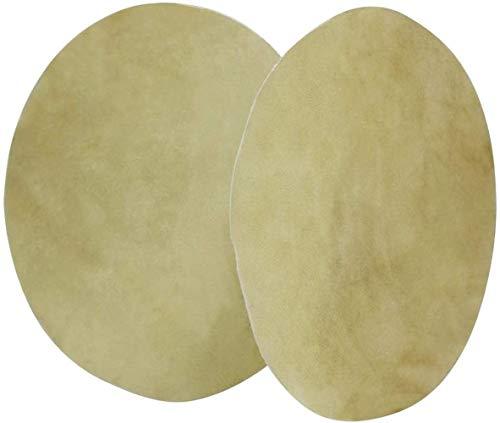 2 piezas de piel de búfalo para tambores de bongo chamán