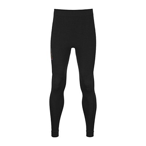 ORTOVOX Competition Pantalon de Sport pour Homme en Laine mérinos XL Noir - Black Raven