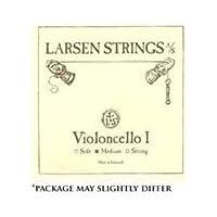 Larsen 4/4 Cello String Set Medium Gauge【並行輸入】