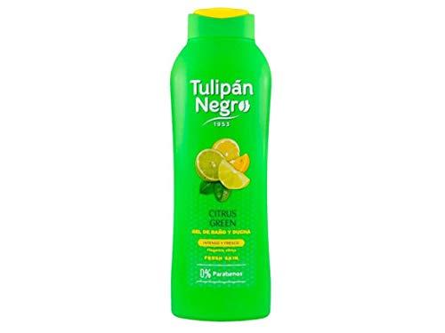 Tulipan Negro Gel T Negro 600 Ml Citrus + 120 Ml 3 Unidad 720 ml