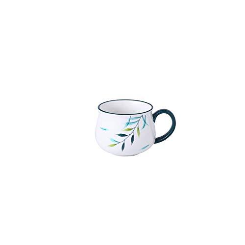 JSJJARF Vajillas Conjunto de vajillas de cerámica Bandeja de Compartimentos Alimentos para niños Dispaso Dispago Placa de Desayuno Placas para el hogar Set de Placa separada (Color : Summer Cup)