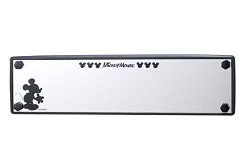 ナポレックス 車用 ルームミラー ディズニー ワイドミラー ミッキー 270㎜ 平面鏡 高反射アルミ鏡 汎用 WD-170
