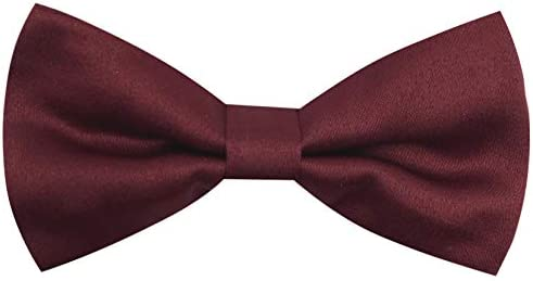 CD Kids Bow Tie Toddlers Adjustable Bowtie Accessories for Boys and Girls Burgundy Kids product image
