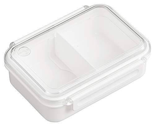 OSK 弁当箱 ランチボックス まるごと冷凍弁当 ホワイト 500ml [保存容器/冷凍OK/レンジOK/レシピ付/仕切付] 日本製 食洗機対応 PCL-1SR
