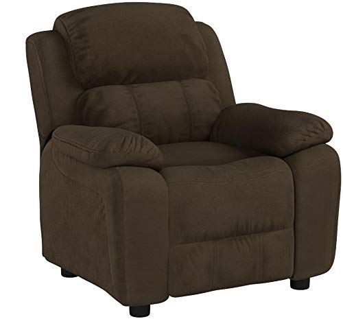 Deluxe Heavily Padded Contemporary Kids Recliner