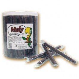 Barquillo bañado chocolate - Mufy - 90 unidades