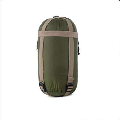 VBNM Schlafsack 190X75 cm Mini Ultraleicht Umschlag Schlafsack Für Frühling Sommer Herbst Outdoor Camping Wandern Klettern SchlafsackArmee Grün