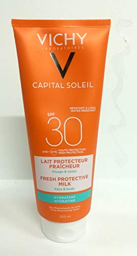 Protetor Solar Vichy Capital Soleil Leite Hidratante SPF30 300ml