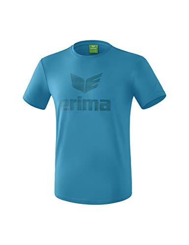 ERIMA Kinder T-shirt Essential T-Shirt, oriental blue/colonial blue, 152, 2081940