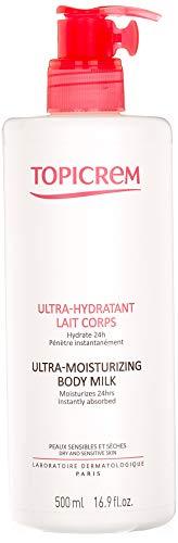 Topicrem Ultra Hydratant Lait Corps 500 ml (PAck de 2)