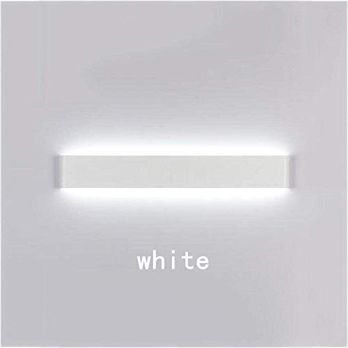 Mirror Front Light LED Badkamer Wandlamp moderne minimalistische Europese spiegelcabinet Spiegel Lamp Creative slaapkamer lamp van het bed (kleur: 24cm (6W warm wit)), Kleur: 72cm (24w wit)