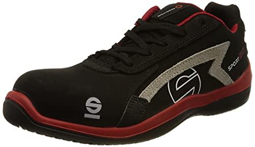Sparco S0751646RSNR Zapatillas Sport EVO Negro, 46 EU