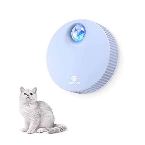 Sumbee Eliminador de olores de Mascotas Inteligente, eliminador de olores de Caja de Arena para Gatos, Desodorante sin Perfume, sin Polvo para pequeos Animales Inodoro o hogar - Azul