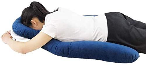 Kopf- / Schulterträger-Kissenbeauftragung, der das Gesicht nach unten lindert, schlafendes Gesichtspindel für Pfosten von Vitrektomie und Retinalablösepatienten während der Erholung 1217 ( Color : B )