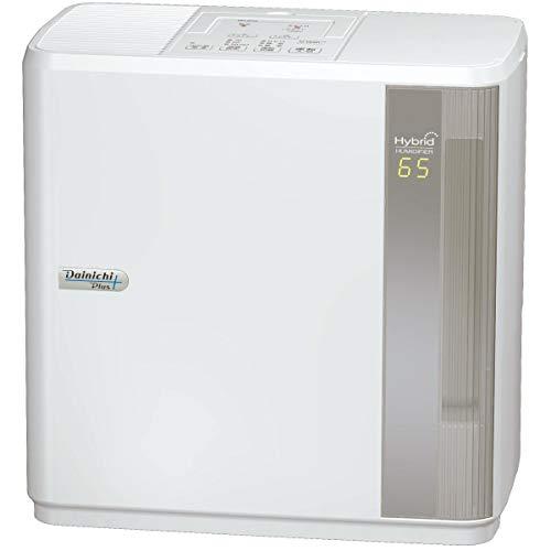 ダイニチ (Dainichi) 加湿器 ハイブリッド式(木造和室14.5畳まで/プレハブ洋室24畳まで) HDシリーズ ホワイト HD-9019-W