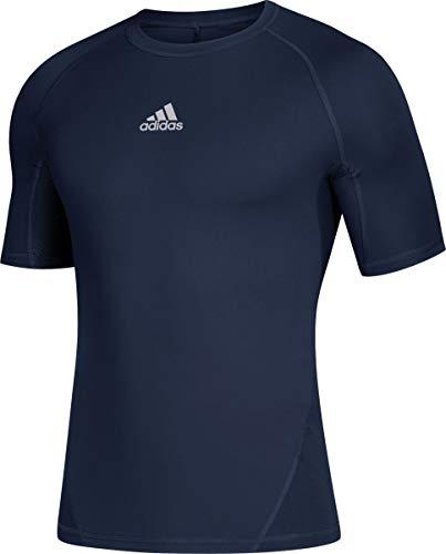 adidas Alphaskin Compression T-Shirt (842T) L/Collegiate Navy