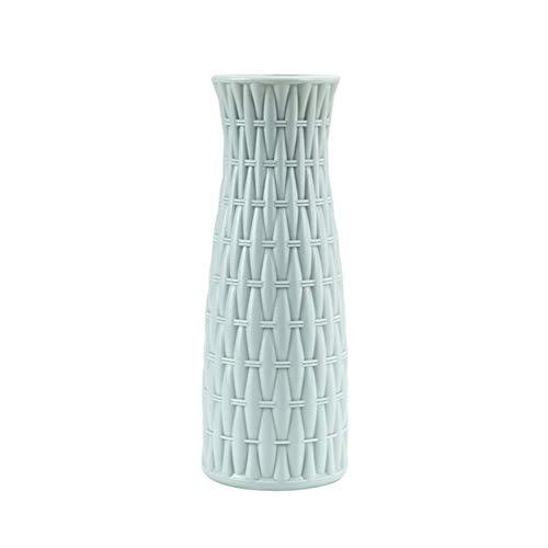 NA vaas 1 stuks plastic vaas imitatie keramiek bloempot bloemenmand bloemenvaas decoratie 6