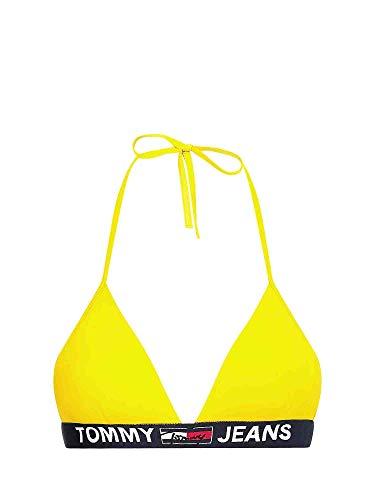 Tommy Hilfiger beachwear UW0UW02938 Traje de baño Bikini Top Mujer Amarillo M