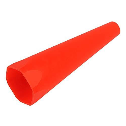 Mag-Lite ASXX07B Warnaufsatz für C-/D-Cell Taschenlampen, rot