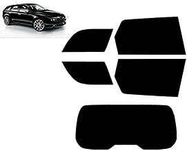 Láminas Solares para Tintar Las Lunas del Coche-Alfa Romeo 159 Q4 5-Puertas Familiar 2005-2011 Ventanas Traseras & Luna Trasera (05% Super Negro)