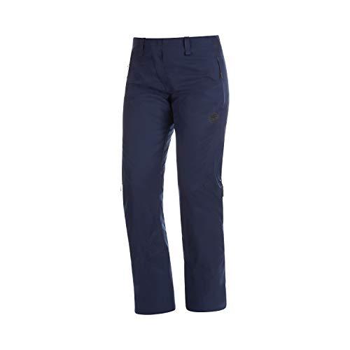 Mammut Scalottas Pantalon Hard Shell Isolant Femme, Peacoat, FR : XL (Taille Fabricant : EU 42)