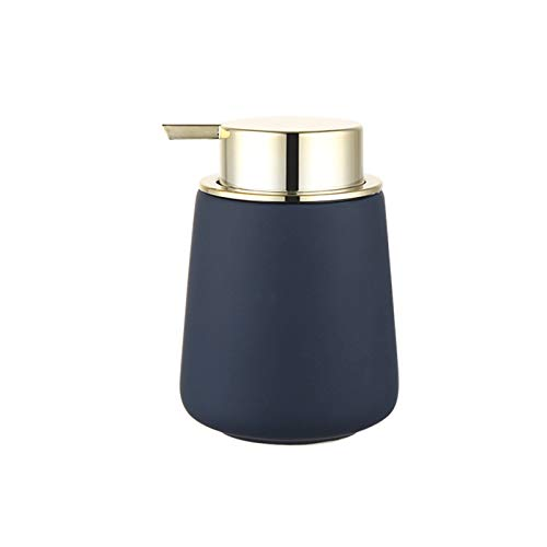Household Dispensador de Jabón Botella de la bomba del dispensador de jabón líquido de cerámica decorativa para el baño, el fregadero de la cocina - sostiene el jabón de la mano, el jabón del plato.Bo