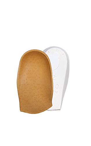 3/4 Orthotic Shoe Insoles Inserts for Kids Children, Sever's Disease, Growing Pains, Plantar Fasciitis, Valgus Heel & Knee Pain, Stabilize Heel Correct Gait, Kaps Ortica (19 EUR / 3 UK Children)