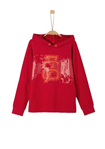 s.Oliver Jungen 61.909.41.2763 Sweatshirt, Rot (Red 3188), 152 (Herstellergröße: M/REG)
